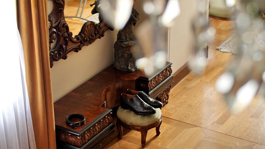 przygotowania buty